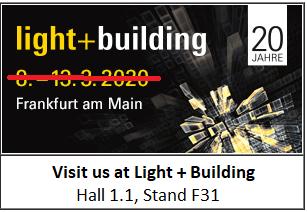 Light + Building 2020 odložen!!!
