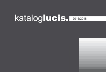 Catalogue Lucis 2016 – 2018