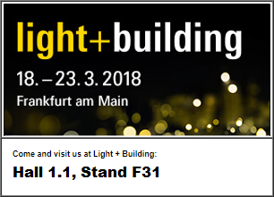 Pozvánka na Light + Building 2018